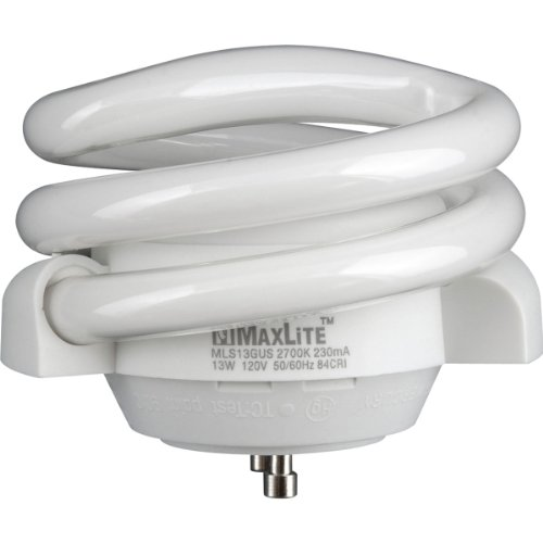 Maxlite MLS13GUSWW6 70441 Twist Style Twist and Lock Base Compact Fluorescent Light Bulb