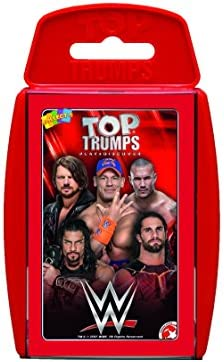 Top Trumps WWE Card Game – 2017 Edition