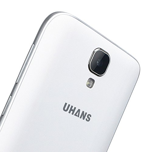 UHANS A101 Android Smartphone - Android 6.0, Quad-Core CPU, 4G, Gesture Sensing, 5 Inch HD Display, Dual-SIM, Dual-IMEI (White)