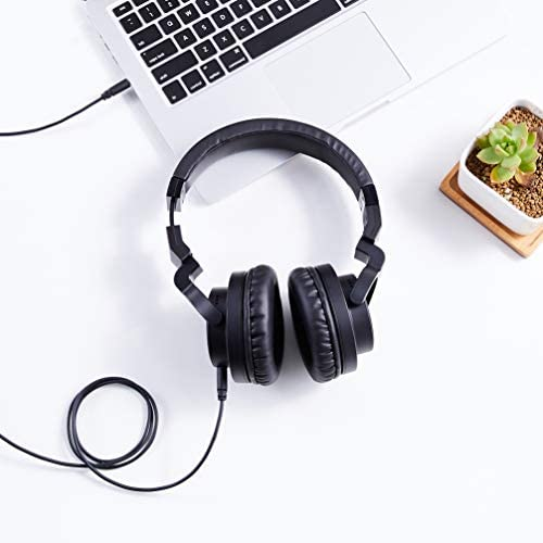 Amazon Basics Over-Ear Studio Monitor Headphones - Black 17