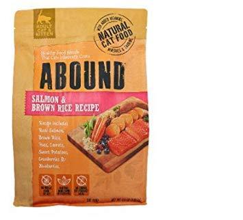 Abound Salmon & Brown Rice Adult Cat Food 3.5 lb (Single Bag)
