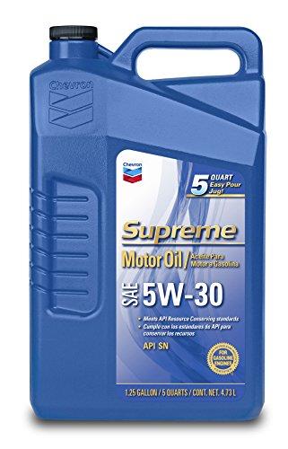 Chevron Supreme 220013474 5W-30 Motor Oil - 1.25 Gallon