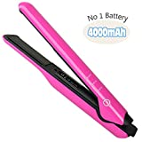 K-Salon Cordless Hair Flat Iron and Battery Hair Straightener