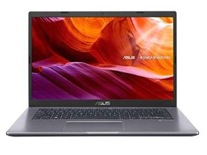 ASUS VivoBook 14 X409FJ-EK502T Intel Core i5 8th Gen 14-inch FHD Compact and Light Laptop (8GB RAM/512GB NVMe SSD/Windows 10/2GB NVIDIA GeForce MX230 Graphics/FP Reader/1.60 Kg), Slate Grey