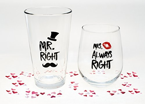 Funny Wedding Gifts.Funny Wedding Gifts Mr Right And Mrs Always Right
