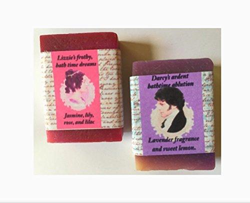 Jane Austen Soap set