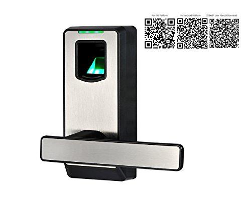 2016 New Arrival! ZKTeco Bluetooth Biometric Door Lock- Keyless ...