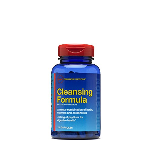 GNC Preventive Nutrition Cleansing Formula, 120 Capsules, Supports Digestive Health