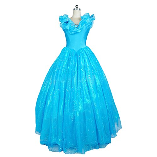 Women's Cinderella Cosplay costume Cinderella Dress One-piece