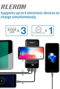 Wireless-Portable-Charger-25000mAh-Power-Bank-Battery-Pack-with-Three-OutputsDual-Inputs-Huge-Capacity-Backup-Battery-Compatible-SmartphoneTablet-and-More