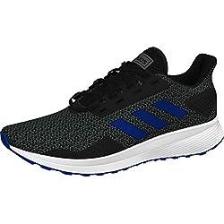 adidas Duramo 9 (Wide) Shoe - Mens Running Core Black/Royal/Grey