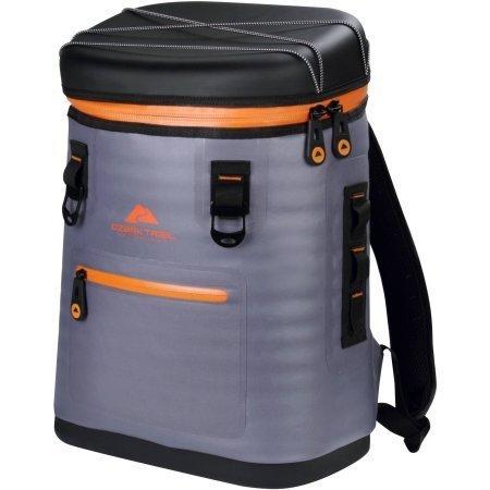 Ozark Trail Premium Backpack Cooler, Gray