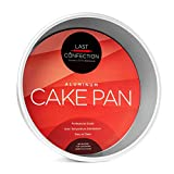Last Confection 9' x 3' Deep Round Aluminum Cake Pan - Professional Bakeware