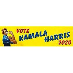 Vote Kamala Harris 2020 Bumper Sticker with Rosie The Riveter Theme