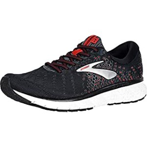 Brooks Mens Glycerin 17 Running Shoe - Black/Ebony/Red - D