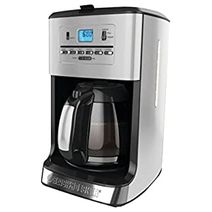 Black & Decker CM3005S 12-Cup Tea and Coffeemaker