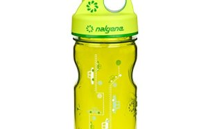 Nalgene Grip-N-Gulp Water Bottle (Spring Green Cars, 12-Ounce)