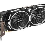 MSI Gaming Radeon Rx 580 256-bit 8GB GDRR5 HDMI/DP DirectX 12 VR Ready Dual Fan Crossfire Freesync Graphics Card (RX 580…