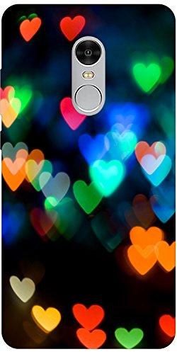 Lakshya creative colourful heart Xiaomi redmi Note 4 Designer Printed mobile Case back cover 1
