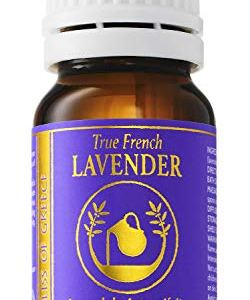 Organic Pure True French Lavender Essential Oil from Lavandula Angustifolia