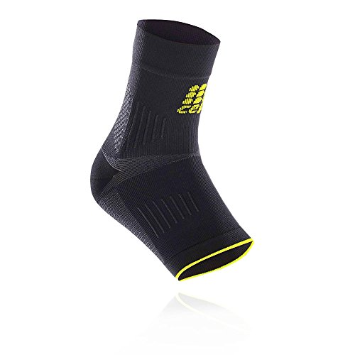 CEP Ortho+ Plantar Fasciitis Sleeves Pair for Heel, Foot, and Arch Support with Compression to Relieve Heel Pain, Improve Circulation, and Prevent Strain, for Men and Women, Black/Green, 2