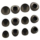 ALXCD Ear Tip for Jaybird X3 Earphone, SML 3 Sizes 6 Pair Soft Silicone Replacement Earbud Tips, Fit for Jaybird Bluebud X3 Earphone [6 Pair/4.5mm]