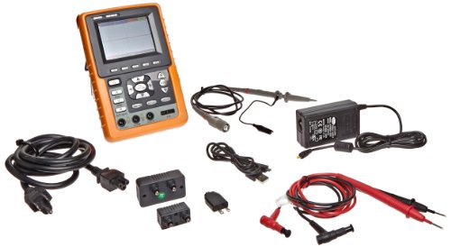 Owon HDS1021M Series HDS Handheld Digital Storage Oscilloscope and Digital Multimeter, 20MHz, Single Channel, 100MS/s Sample Rate