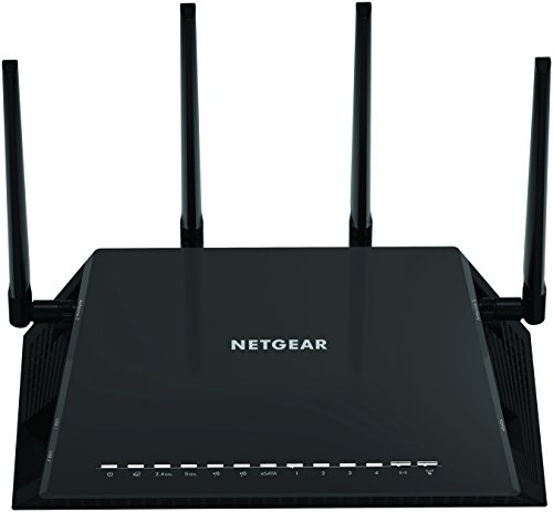 NETGEAR Nighthawk X4S AC2600 4x4 Dual Band Smart WiFi Router, Gigabit Ethernet, MU-MIMO, Compatible with Amazon Echo/Alexa (R7800)