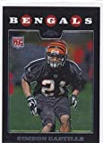 2008 TOPPS CHROME FOOTBALL SIMEON CASTILLE RC ROOKIE CARD