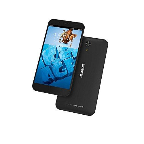 "BLUBOO Xfire MTK6735 Quad Core 1.0 GHz 4G LTE Cell Phone 5.0"" QHD Android 5.1 1GB RAM+8GB ROM Dual SIM Smart phone (black)"