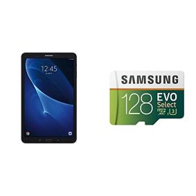 Samsung-Galaxy-Tab-A-101-16-GB-WiFi-Tablet-Black-SM-T580NZKAXAR-with-Samsung-128GB-100MBs-U3-MicroSDXC-EVO-Select-Memory-Card-with-Full-Size-Adapter-MB-ME128GAAM-Bundle