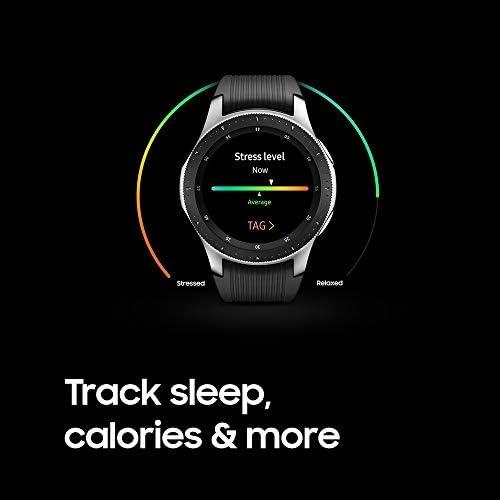 Samsung Galaxy Watch smartwatch (46mm, GPS, Bluetooth) – Silver/Black (US Version with Warranty) 8
