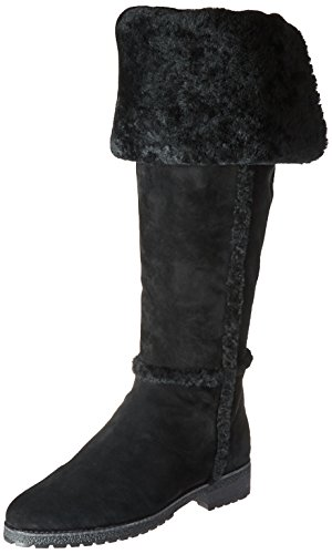 41Lj90SfQPL Beautiful aspen feel, Shearling lined, The crepe-textured rubber bottom lends a touch of traction