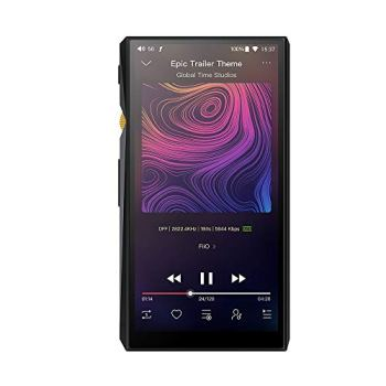 FiiO M11 Android High Resolution Lossless Music Player with aptX HD, LDAC HiFi Bluetooth, USB Audio/DAC,DSD256 Support and WiFi Play Full Touch Screen