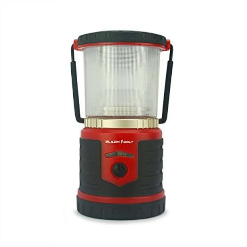 Blazin' Bison Brightest Rechargeable LED Lantern | 400 Hour Runtime | Phone Charger | Hurricane, Emergency, Storm