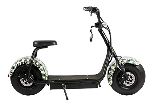 EBIKELING 60V 1000W Electric Lifestyle Scooter Fat Tire E-Bike ebike