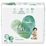 Pampers Pure Disposable Baby Diapers, Hypoallergenic and Fragrance Free Protection, Size 3, 27 Count