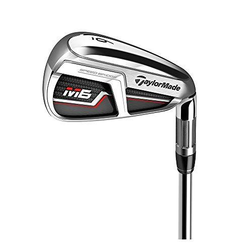TaylorMade Golf M6 Iron Set, 4-PW, AW, Right Hand, Stiff Flex Shaft: KBS Max 85
