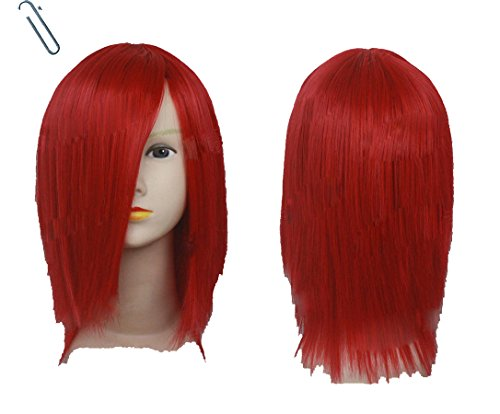 Xcoser Kairi Wig Kingdom Hearts Cosplay Wig Hair Costume Accessories Halloween Party