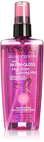 L'Oreal Paris Hair Expert Nutrigloss High Shine Glossing Mist, 3.4 fl. oz. (Packaging May Vary)