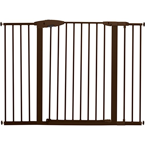 "Munchkin Easy Close XL Metal Baby Gate, 29.5"" - 51.6"" Wide, Bronze, Model MK0009-111"