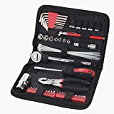 Apollo Tools DT9774 SAE Auto Tool Kit with Zippered Case, 56-Piece