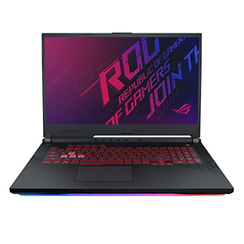 "ASUS ROG Strix G G731GT-H7158T 17.3"" FHD 120Hz Gaming Laptop GTX 1650 4GB Graphics (Core i7-9750H 9th Gen/16GB RAM/1TB NVMe SSD/Windows 10/One-Zone RGB KB/2.85 Kg), Black 43"