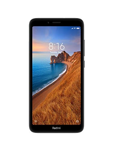 Redmi 7A (Matte Black, 2GB RAM, 16GB Storage)
