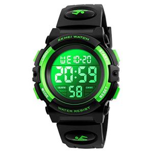 Kids Watch, Boys Sports Digital Waterproof Led Watches with Alarm Wrist Watches for Boy Girls Children Watch A