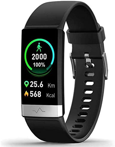 MorePro Heart Rate Monitor Blood Pressure Fitness Activity Tracker with Low O2 Reminder, IP68 Waterproof Smart Watch with HRV Sleep Health Monitor Smartwatch for Android iOS Phones 1