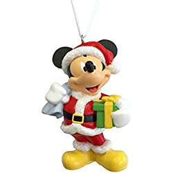 hallmark disney mickey mouse as santa claus christmas ornament