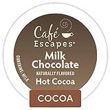 Café Escapes Milk Chocolate Hot Cocoa, Single Serve Coffee K-Cup Pod, Flavored Coffee, 72