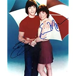 Happy Days Signed By Erin Moran / Scott Baio In Person Autographed Photo