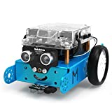 Makeblock mBot Robot Kit, DIY Mechanical Building Blocks, Entry-level Programming Helps Improve Children' s Logical Thinking and Creativity Skills, STEM Education. (Blue, Bluetooth Version, Family)
